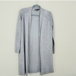 89th& Madison Sz S Gray duster length sweater
